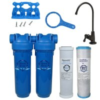 Drinking Water Filter, Lead Chloramine Chlorine Sediment, ORB Faucet