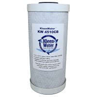 Carbon Block Water Filter Cartridge - 4.5 x 10 Inch - 5 Micron