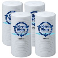 Four 3M Aqua-Pure AP810 Poly-Spun Compatible Water Filter Cartridges