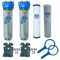 Whole House Chlorine and Sediment Removal Water Filter System
