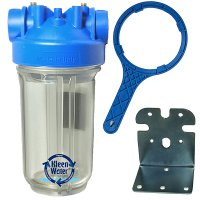 Premier Whole House Water Filter Housing 4.5 x 10 with Bracket/Wrench