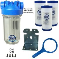 Premier Whole House Sediment Water Filter System - 4.5 x 10