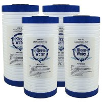 Four 3M Aqua-Pure AP810 Compatible Water Filter Cartridges - End Caps