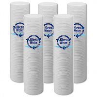Five 3M Aqua-Pure AP-810-2 Compatible Water Filters - 5 Micron