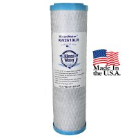 Chlorine Lead and Sediment Carbon Water Filter - 2.5 x 10 Inch