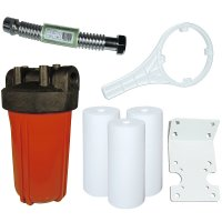 High Temperature Water Filter Multi-Pack System, 20 Gallon Flow Rate