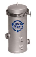 Stainless Steel Water / Fluid Filter Housing - 4 Cartridges
