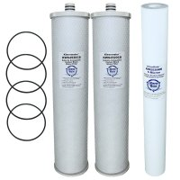 Selecto Scientific MF5 620-2P System Compatible Water Filter, Set of 3