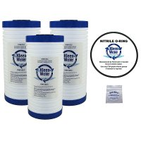 Three Compatible Aqua-Pure AP810 Water Filters - O-Ring - Lubricant