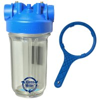 Premier Whole House Water Filter Housing 4.5 x 10 with Wrench