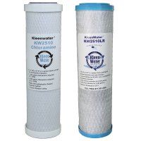 Dual Drinking Water Filter Set for Undersink Systems, Advanced