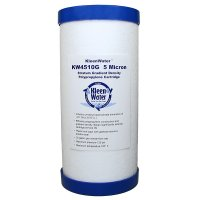 4.5 x 10 inch Dirt Sediment Water Filter Cartridge - 5 Micron