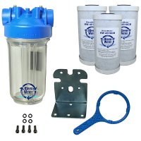 Premier Whole House Chlorine Water Filter System - 4.5 x 10