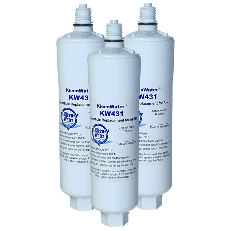 Three AP431 Aqua-Pure Compatible Replacement Water Filters - Click Image to Close