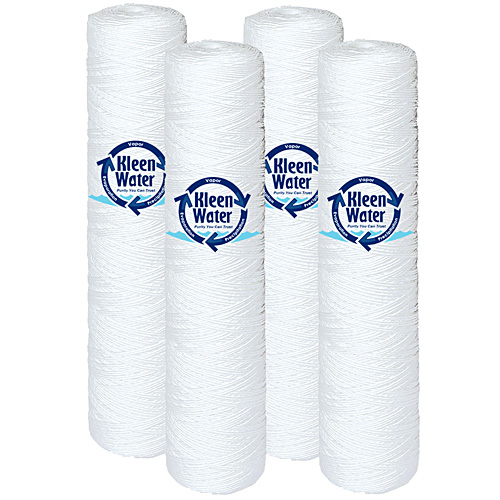 Four Pentek WP5BB20P / WP25BB20P Compatible String Wound Water Filters - Click Image to Close