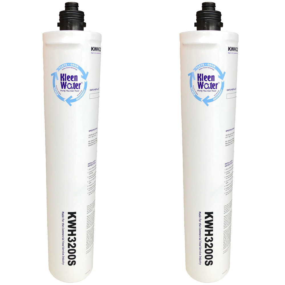 4HF-H Hoshizaki Food Service Replacement Water Filter Twin Set - Click Image to Close